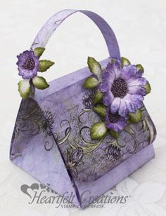 Heartfelt Creations | Majestic Blooms Handbag
