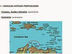 """ROSA DOS VENTOS: -"""" Crioulos de base lexical portuguesa """""""