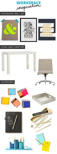 workspace-office-inspiration #workspace #desk