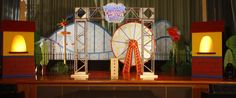 Tutorial: How to build a moving ferris wheel for Colossal Coaster World VBS!