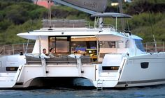 """<p>Elected """"Best Boat"""" in 2014, this sailboat catamaran was designed to respond with excellence to a variety of cruising experiences. Discover The Saba 50 catamaran.</p>"""