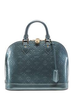 Louis Vuitton Givre Monogram Vernis Alma PM