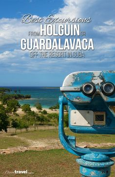 Sometimes you just have to leave the comfort of your beach chair and head off the resort. We put together a list of the best Excursions to take from Hotels in the Holguin or Gaurdalavaca areas of Cuba. From historical sites, cultural attractions to shopping in downtown Holguin we've got you covered here. Travel in the Caribbean.