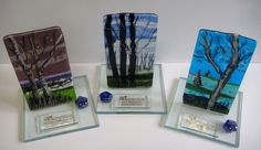 Art Connection of RI, 2015 Awards: Kiln Fired Fused Glass panels by Alice Benvie Gebhart
