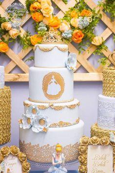 Cinderella Birthday Party via Kara's Party Ideas | Party ideas, decor, printables, tutorials, desserts, cake, recipes and more! KarasPartyIdeas.com (11)