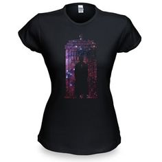 10th Doctor Galaxy Silhouette Tee - *swoon*  In the eleven-or-so Doctors we've encountered, David Tennant is the most swoon-worthy. Is it the hair? The trench? The Chucks? The way his Doctor has an English accent but his real accent is Scottish? Doesn't matter. There is something about the man that makes our hearts beat a little faster. (Yes, even the men of @ThinkGeek have a bit of a bro-crush on Tennant.) #DoctorWho