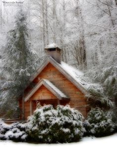 Winter Pictures Of The Smokies -