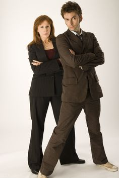 10th Doctor and Donna! :3