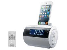 Dock Speaker for iPod/iPhone [Japan Import]. Dock Speaker for iPod/iPhone [Japan Import]. Dimensions (width × height × depth): about 126 × 92 × Power: AC 100 V, Hz. Main accessories: AC adapter AM loop antenna remote control (lithium. Iphone Clock, Alarm Clock, Best Portable Bluetooth Speaker, Iphone Gadgets, Tech Gifts, Iphone Accessories, Cool Gadgets, Online Furniture, Cool Toys