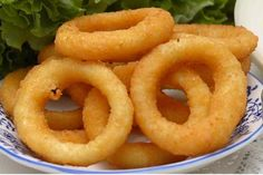 Beer Batter Onion Rings Crispy Onions, Fried Onions, Beignets, Snack Recipes, Cooking Recipes, Snacks, Vegetarian Cooking, Easy Recipes, Onion Recipes