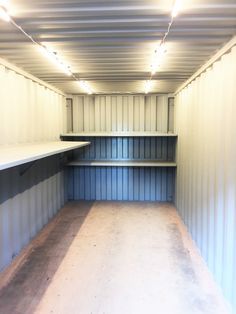 Light It Up Our Recent Project Is A 20 Foot Steel Shipping Container With Led Shipping Container Sheds Shipping Container Buildings Shipping Container Storage
