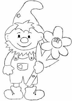 gnome homes coloring Fish Crafts, Craft Stick Crafts, Flower Crafts, Diy And Crafts, Autumn Crafts, Autumn Art, Spring Crafts, Coloring Sheets, Coloring Books