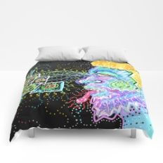 Taste The Abstract Vision  Comforters