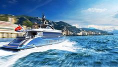The Dynamiq yachts feature 21- to 25-knot top speeds.