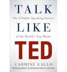 A powerful guide to public speaking, based on scientific analysis of hundreds of TED presentations and interviews with TED speakers