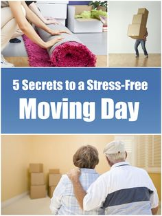 Now that you've decided to move, thinking about what you need to do before the big day can be nerve-racking. Use these five key ideas to ensure a smooth moving day!