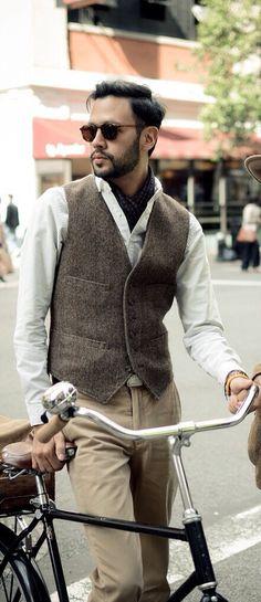 Nice style in tweed