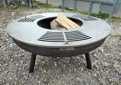 Grillring CNS  Grillplatte für Feuerschalen, Fire Bowl