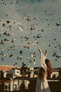 Volar libremente...