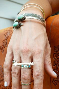 Silver / turquoise jewelry