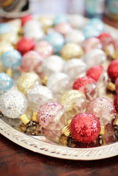 lush interiors: Weihnachtszeit ist Glitzerzeit!