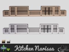 BuffSumm's Kitchen Narissa Cabinet Three