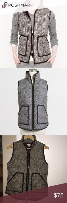 Selling this J. Crew Herringbone Vest on Poshmark! My username is: sami_moore_. #shopmycloset #poshmark #fashion #shopping #style #forsale #J. Crew #Jackets & Blazers