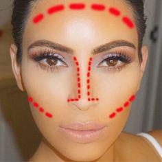 How to do a Kim Kardashian contour  - Sugarscape.com