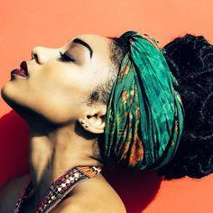 Para estilosas que sabem usar um lenço na cabeça - Chá de Mulher