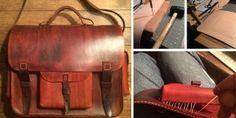Kožená handmade aktovka | Návod ako na to