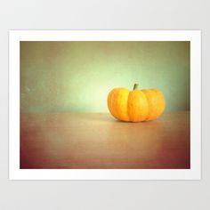 Pumpkin Art Print by Ally Coxon - $20.00