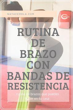Rutina de brazo con bandas de resistencia que puedes hacer desde casa. Home, Beginner Exercise, Exercise Workouts, Biceps Curl, Resistance Bands, Exercises, Men
