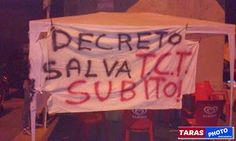 """TARAStv: """"TCT TARANTO"""" IL DISPERATO TENTATIVO DI SALVARE IL..."""