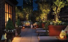 My favorite, the Sky Terrace at the Hudson Hotel, NYC!
