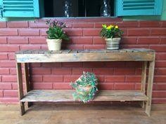 A Casinha da Roça - Mão na Casa Aparador com restos de madeira
