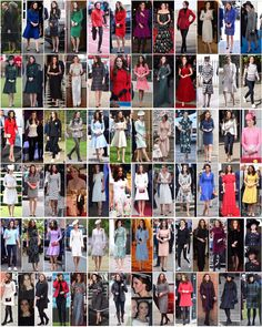 Here's a look back at all of The Duchess of Cambridge's outfits worn to various events throughout 2017. She plays around with styles, colours and labels, all the while remaining true to her elegant, chic and classic sense of style.