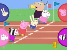 Peppa Pig apps are always a winner with my kids. The sport day one is worth looking at as it uses quick tapping action to make the characters compete in different races. It allows for a few players.