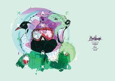 """Marek Kamiński - north and south pole conqueror"" by Bartek Bojarczuk - from Goverdose artpack #05 / theme: ""VViners"""