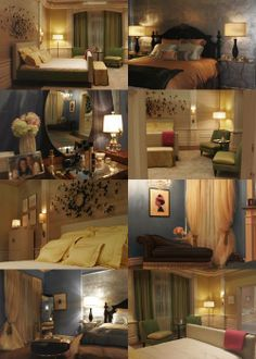 Blair's and Serena's room