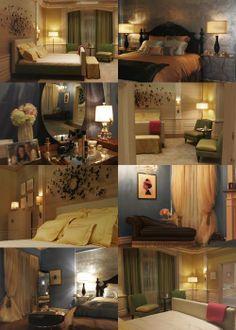 blairs and serenas room - Blair Waldorfzimmer