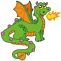 Cute Dragons Cartoon Clip Art Images.All Dragon Cartoon Picture Images Are On A Transparent Background
