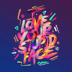 Inspiring handmade lettering, calligraphy and typography designs for type lovers. All lettering and typography posters have motivational, inspirational quotes Typography Images, Creative Typography, Typography Inspiration, Typography Letters, Typography Poster, Graphic Design Inspiration, Typography Wallpaper, Design 3d, Text Design