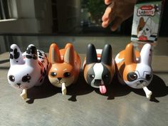 Now is the time to grab some Kibbles N' Labbits blindboxed figures from Kidrobot! They are 15% off for our Daily Deal. Which breed will you get?! #kibbles #kibblesnlabbits #labbit #labbits #kidrobot #blindbox #kozik #frankkozik  #arttoys #arttoy #vinyltoy #vinyltoys #designertoys #desgnertoy #designer #designers #art #vinyl #toy #toys #collectibles #collectible #markham #mindzai #toronto #dailydeal #shibainu #dalmation #bulldog