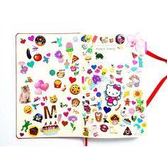 sticker notebook