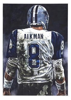 Aikman X watercolor on Arches watercolor board Related posts:Pets First NFL Jacksonville Jaguars Pink Jersey for DOGS & CATS, Licensed Football Jerseys - Small -.Michael Thomas Wins 2019 NFL Offensive Player of. Dallas Sports, Dallas Cowboys Football, Football Memes, Pittsburgh Steelers, Cowboys Eagles, Football Stuff, Sports Baseball, Indianapolis Colts, American Football