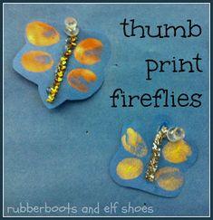 Thumbprint fireflies