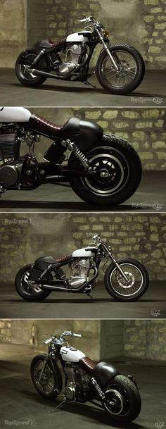 Suzuki Savage Bobber Extreme by HUSZ. http://topspeed.com/motorcycles/motorcycle-news/suzuki-savage-bobber-extreme-by-husz-ar160143.html