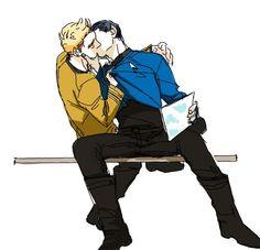 Star Trek - James 'Jim' Kirk x Commander Spock - Spirk