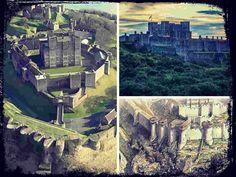 Dover Castle es uno de los castillos más imponentes de Inglaterra y ha sido testigo de los episodios más importantes de la historia británica.