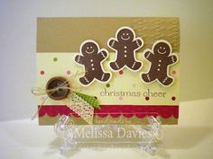 Stampin' Up! Christmas  by Melissa Davies at RubberFUNatics